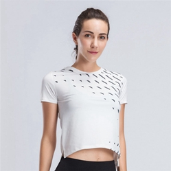 2019 neue frauen Yoga Hemd Laufen Fitness Weste Sleeveless Stilvolle Crop Tops