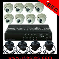 HD 1/3' Sony Effio CCD 700TVL Day & Night IR Cameras CCTV Surveillance Package 8 Channel DVR Security Systems