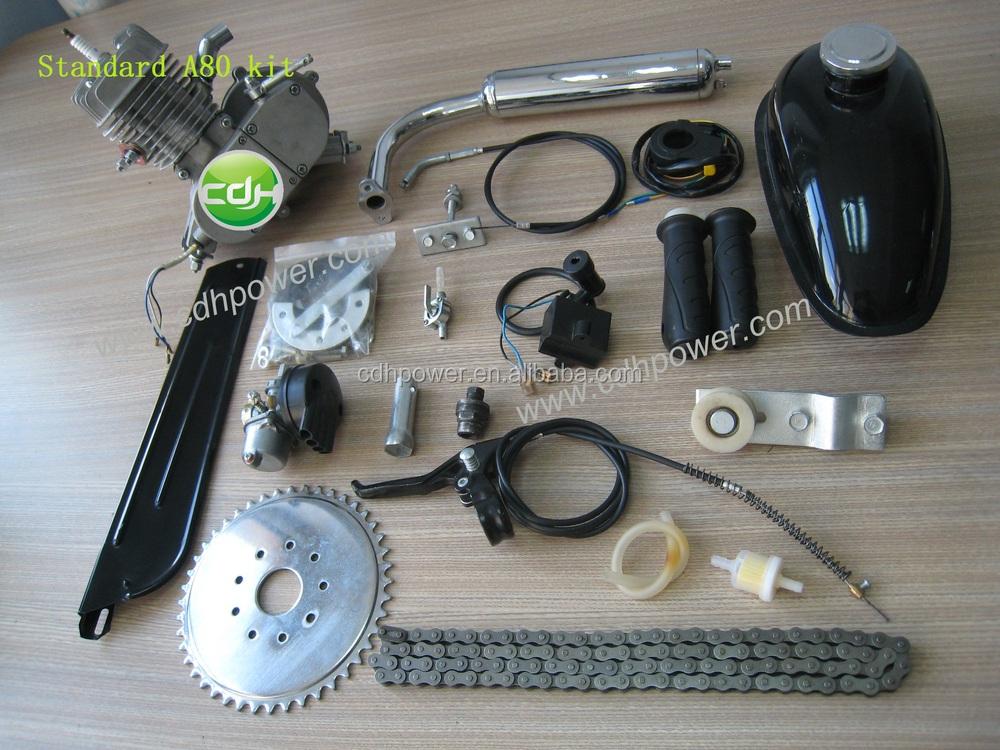 2 Stroke Push Bike Engine Kit,Motorized Bike Gas Engine Kit,Motor ...