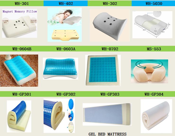 hot cool gel bed mattress pad memory foam pillow cover gel mat bed topper - Gel Mattress Topper