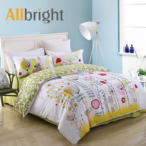 Chinese supplier ALLBRIGHT child duvet cover 3d printed bedding set