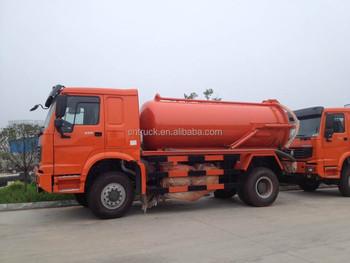 Sinotruk Howo 4x4 Abwasser Saugwagen 8m3 Tuck Vertriebs Dubai - Buy ...