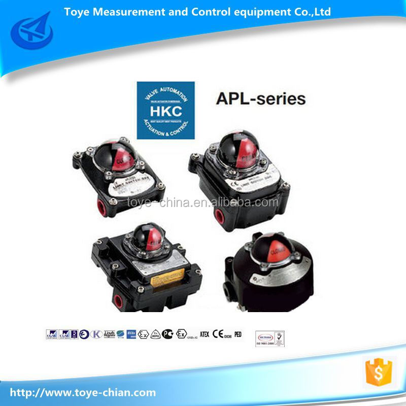 3 position valve type of safety limit switch