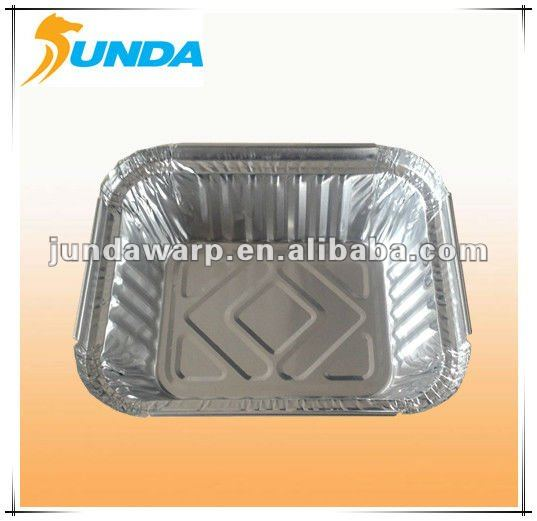 disposable aluminium foil tray food containers