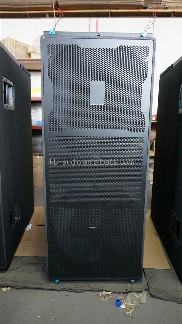 VT4880 daul 18 inch subwoofer speaker line array outdoor sound system