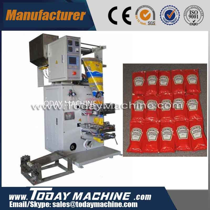 2 lines high speed multi lines Mcdonald's /KFC tomato ketchup packing machine