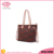 Summer new fashion women clear pvc tote bag
