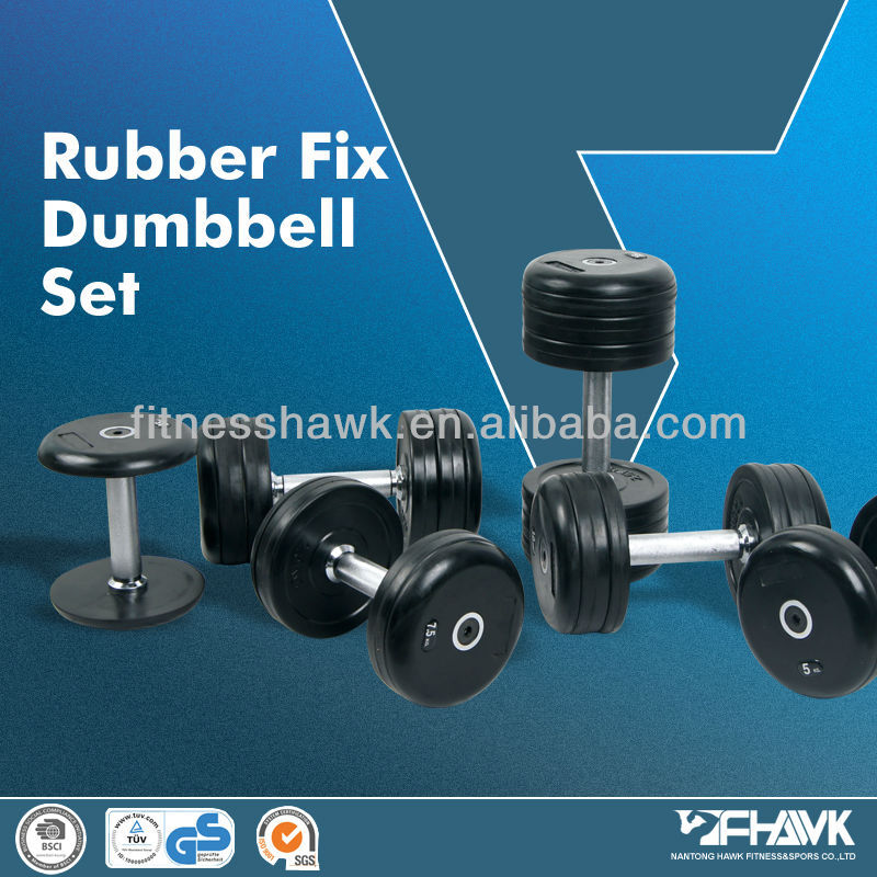 Karet Fix Dumbbell Set/Fixed Karet Dumbbell