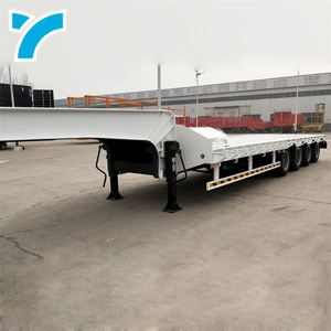 Brand New 7 Pin Trailer Plug Gooseneck Low Bed Truck 60Ft Flatbed Trailer