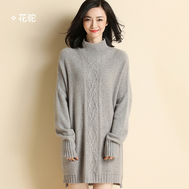2017 autumn and winter , the new half-high collar cashmere sweater 100% pure cashmere sweater 711310