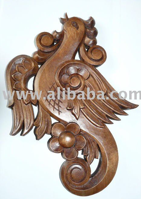Handmade Wood Carving Bird