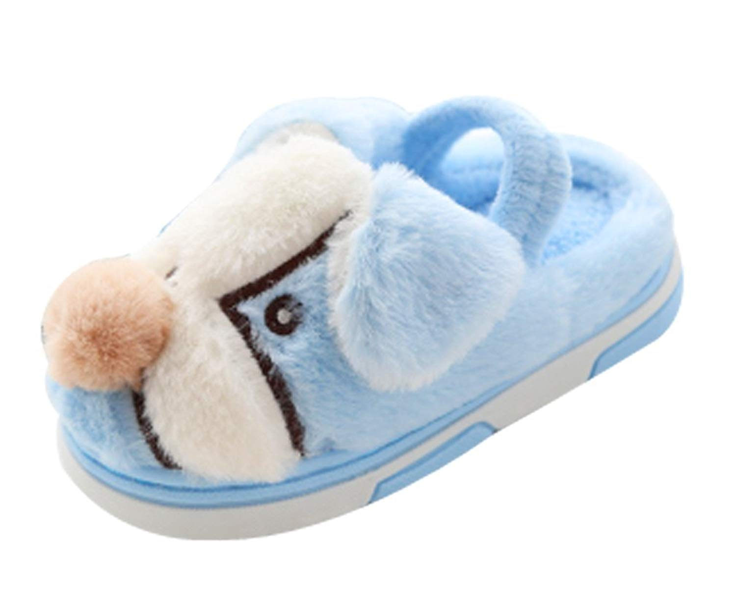 Cattior Animal Fleece Warm House Indoor Dog Slippers Cute Slippers Toddler