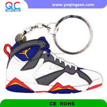 Chinese Supplier High Quality Key Chain JR7 Mini Air Jordan Basketball Shoes Men 3d Sneaker Keychain