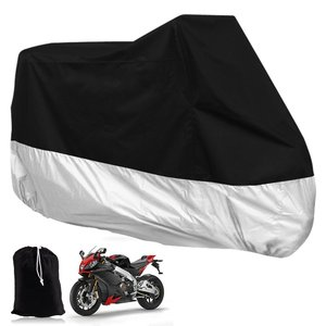 China supply Rain UV All Weather Protection Waterproof Shelter Motorcycle Cover