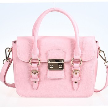 Fancy Pu Shoulder Bags Pink Elegant Small Handbag,Two Sided ...