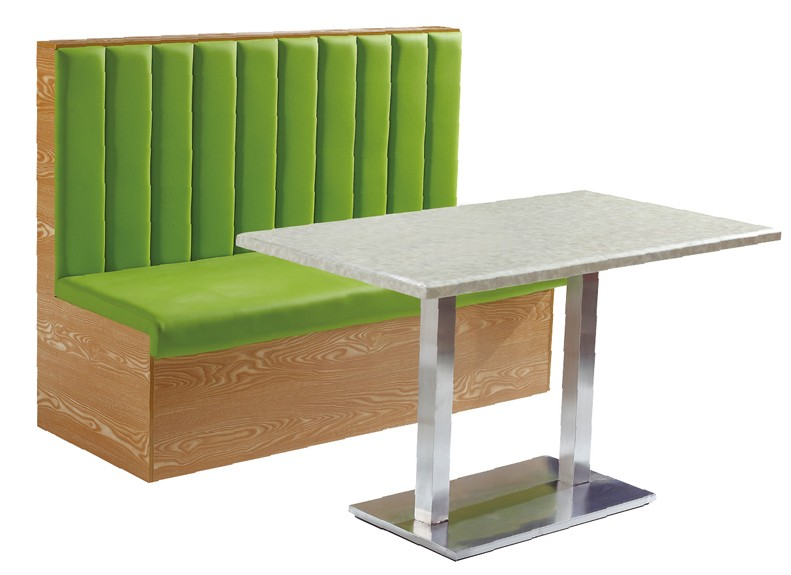 Club Furniture Leather Restaurant Booth Sofa