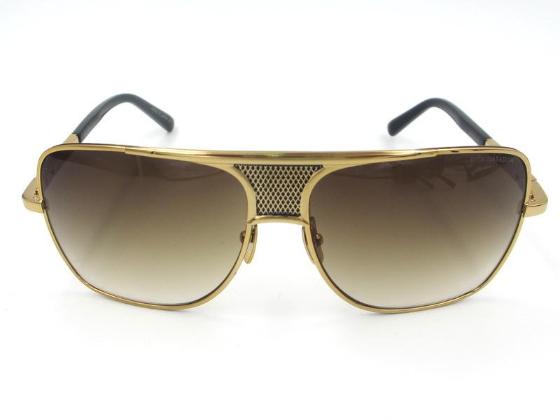 47541f10dd DITA Matador Sunglasses design with original box dita sunglasses men brand  designer SHINY 18K Glod palting
