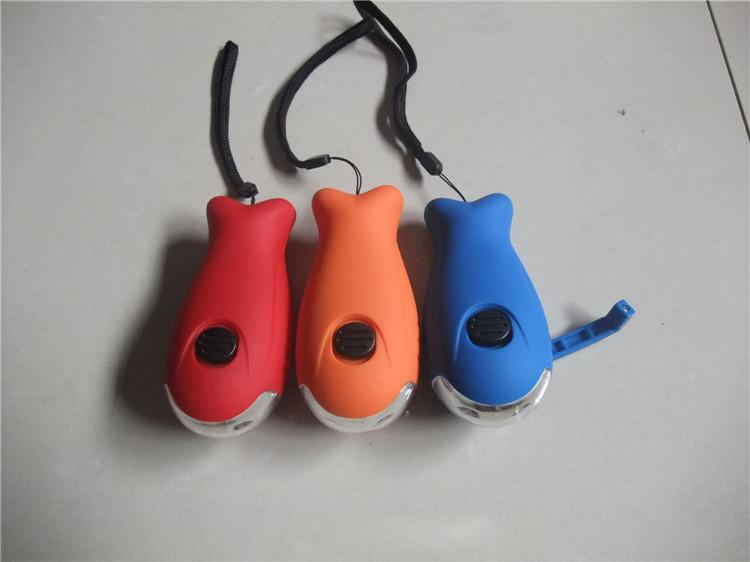 2 led fisch geformt kinder mini handkurbel led taschenlampe buy