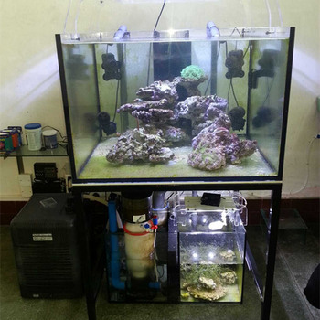 Made To Order Large Gl Artificial Fish Tank With Cabinet Filter