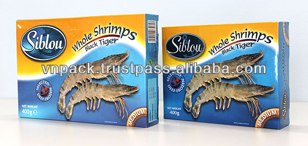 Cheap Seafood Kraft Paper Box.Design , color printing and size with the customer require