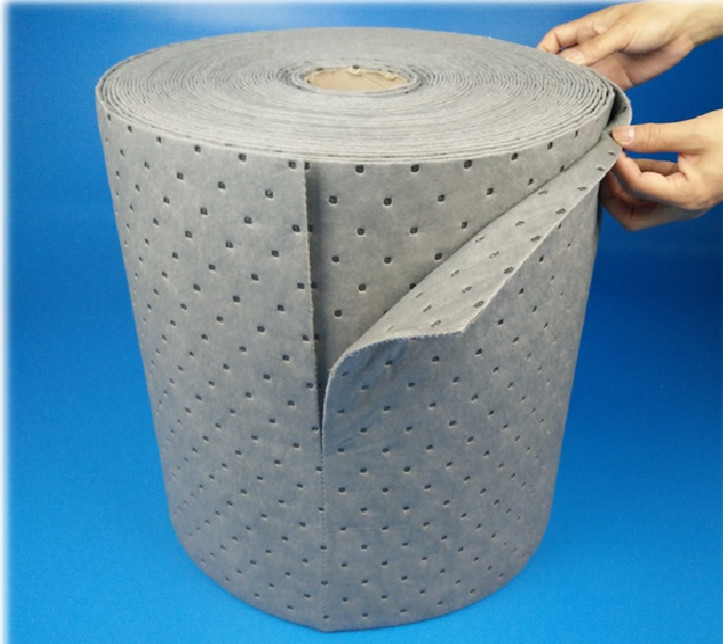 Hot selling machine universal liquid absorbent roll for spill management ballast manufactured in China