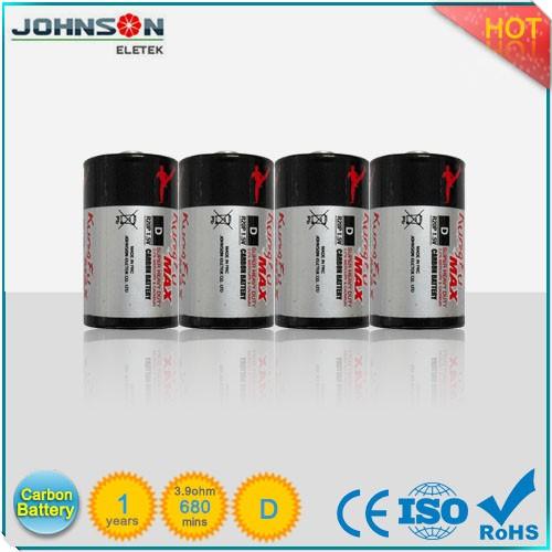 Wholesalers China R20 Um-1 1.5v D Sum-4 Carbon Zinc Battery ...