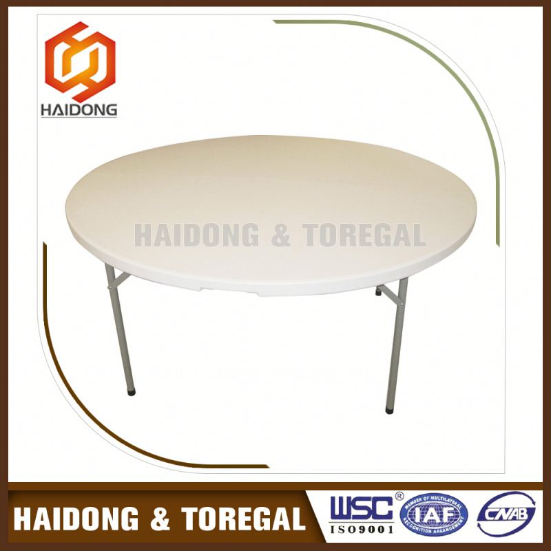 Factory Direct Sales Beautiful Design Cheap Round Furniture Round Plastic Table