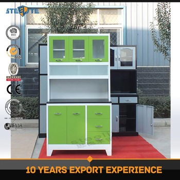 Beau Modern Design Modular Cold Rolled Steel Kitchen Pantry Cupboards/metal  Kitchen Cabinet In Kerala