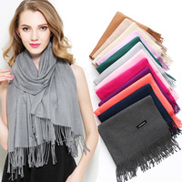 2018 Winter Plaid Scarf Women Fashion Echarpe Scarves Winter Shawl Wool Warm Cashmere Scarf for Women