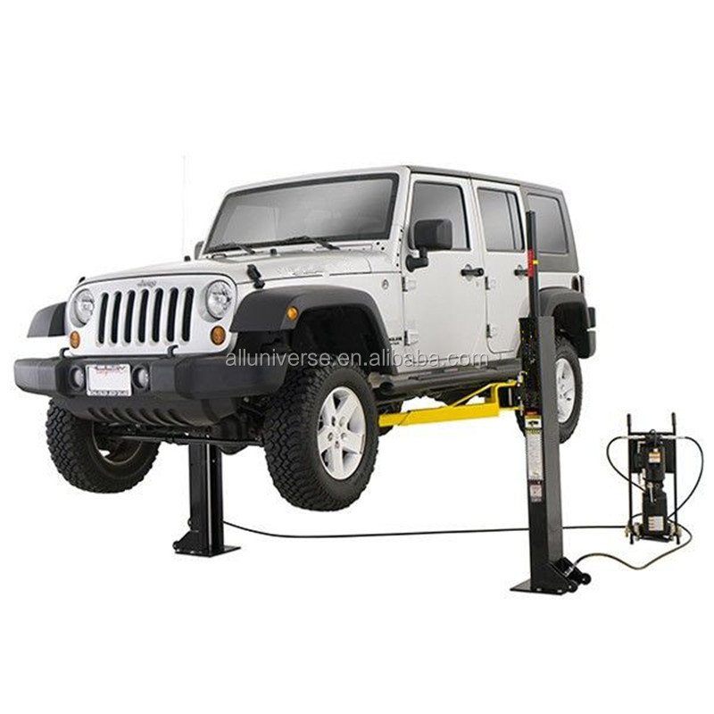 Portable Mobile 2 post car lift automatic double column lift