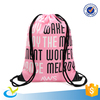 High quality waterproof recycled polyester drawstring bag
