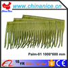 synthetic resin plastic artificial palm leaf thatch roof tile