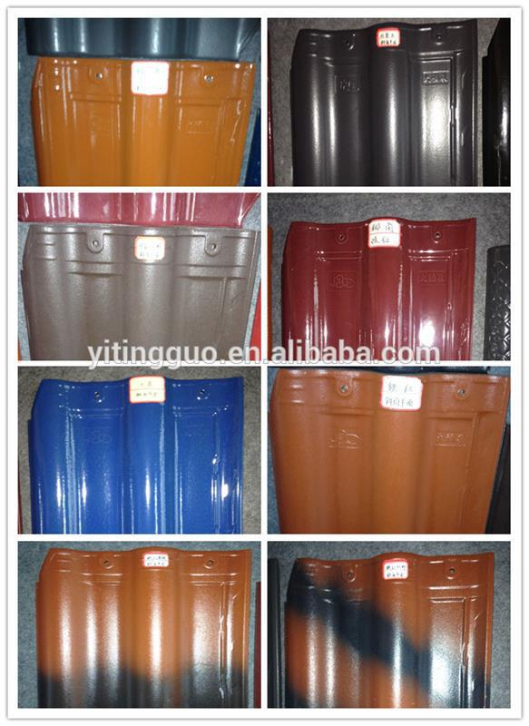 Thermal insulation India Waterproof Ceramic Roof Tile  Whatsapp +86 18019145006
