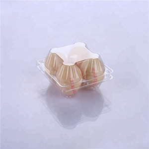Plastic chicken egg carton packaging Wholesale 4 holes plastic blister egg tray