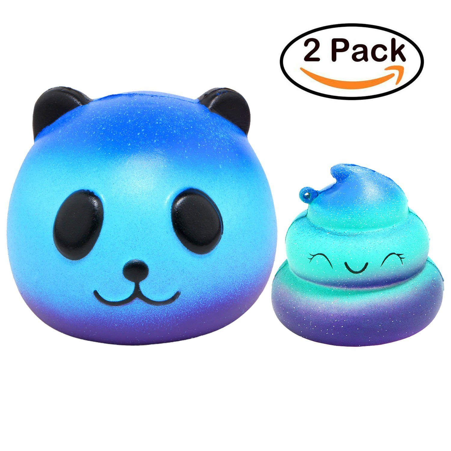 Galaxy Jumbo Squishy Stress Relief Toys-4 Pack