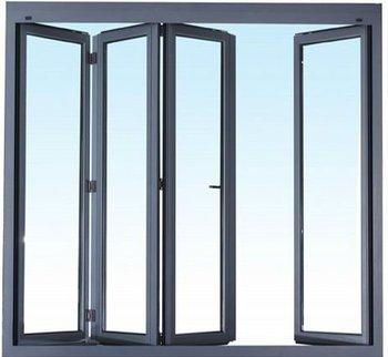 Vidrio interior de puertas de vidrio de aluminio de puerta plegable porche puertas buy puertas - Puertas plegables de aluminio ...