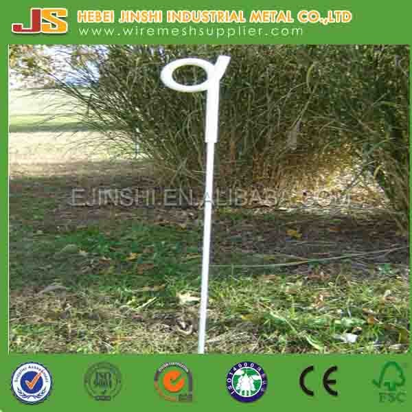 2ft-4ft Plastic Insulation Electric Pigtail Fence Post Manufacture
