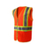 Warning clothing waterproof fabric reflective safety vest with pockets