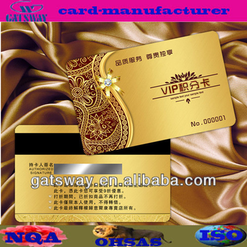 metal business cards china with 4/4 printing