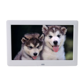 8.2 Inch Digital Photo Frames , USB LCD Picture Frames With Automatic Slide Show