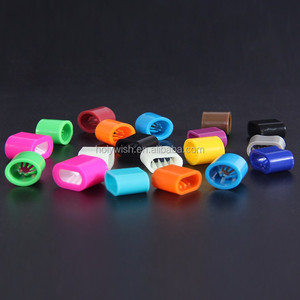 Custom Cheap plastic slide lock for fabric wristband