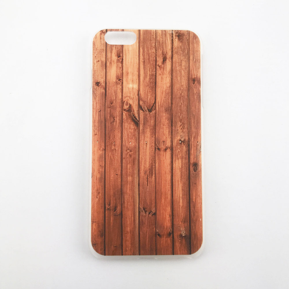 Hard PC <strong>Case</strong> Printing Wood Grain Pattern Phone <strong>Case</strong> for iPhone 7Plus for iPhone 8