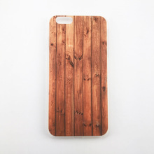 Hard PC Case Printing Wood Grain Pattern Phone Case for iPhone 7Plus for iPhone 8