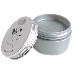 Best matte water based temporary grey color hair clay for short hair