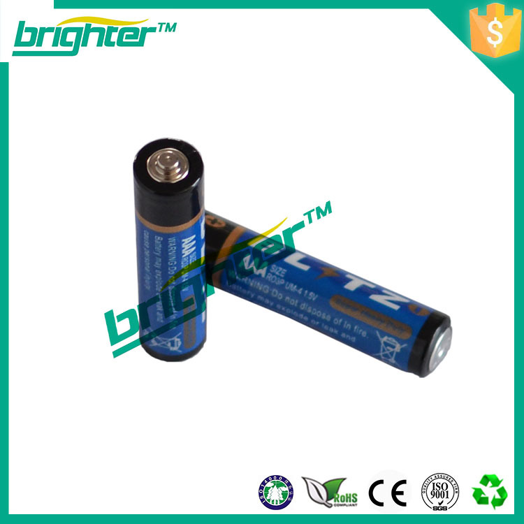 bluetooth scooter carbon zinc battery 1.5v r03 um-4 aaa carbon dry battery