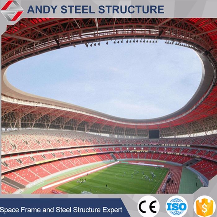Prefab Light Steel Sports Hall Stadium Construction