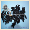 2014 Newest fashion organza embroidery motifs with beads