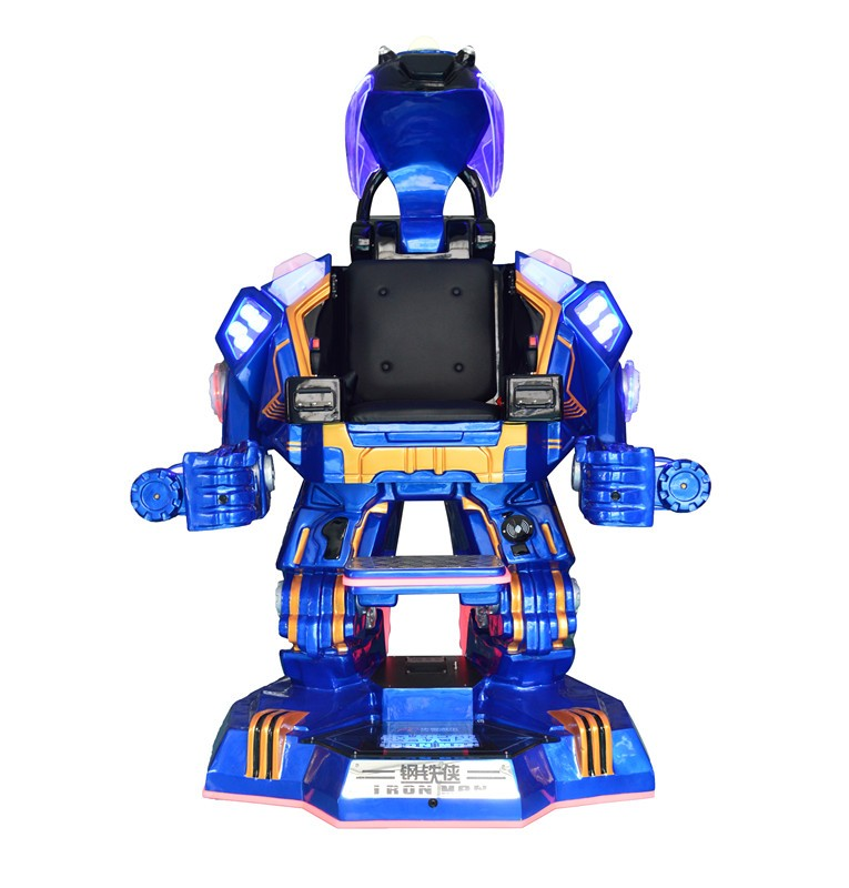 New Products Shopping Mall Walking Crazy Robot Rides Iron Man Robot Toys  For Kid - Buy Robot Rides,Iroman Robot Amusement,Shopping Mall Walking  Robot