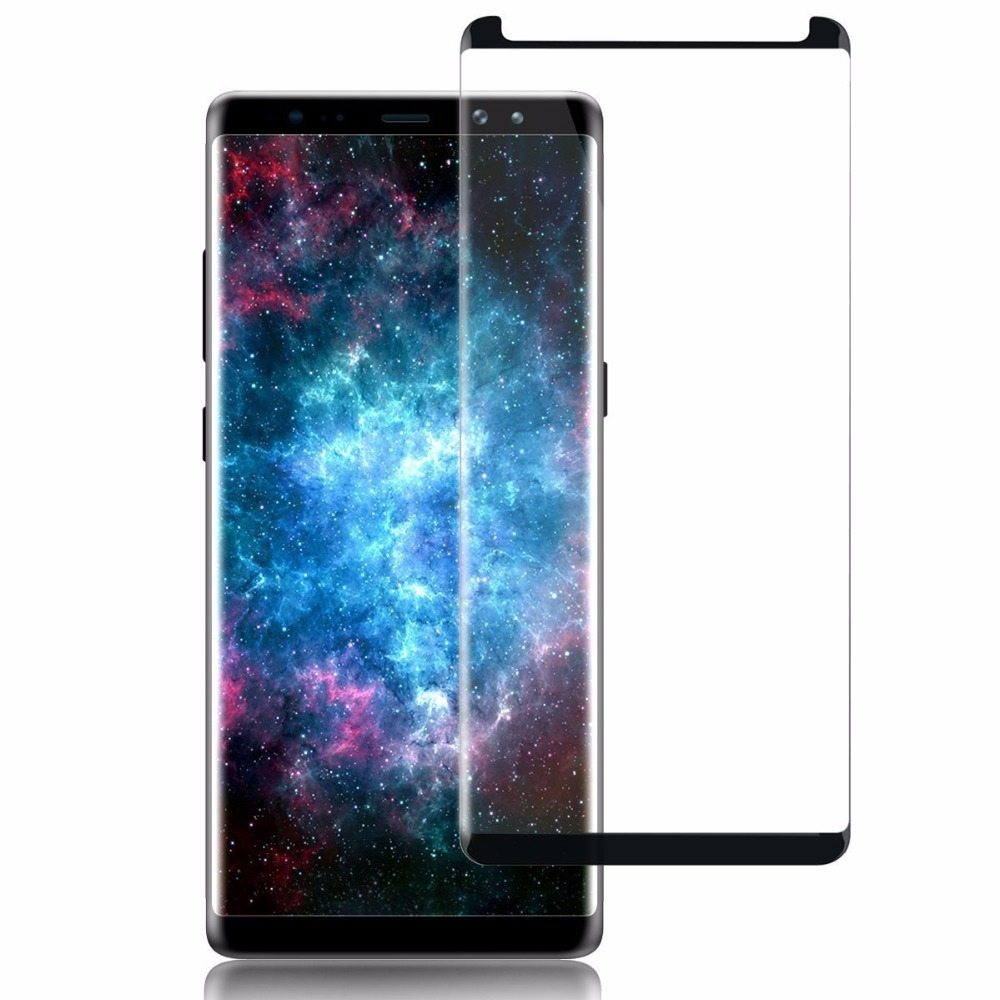 LGYD for 50 PCS 0.26mm 9H 2.5D Tempered Glass Film for Alcatel 5 No Retail Package