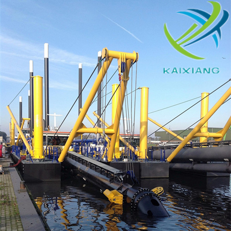 Kaixiang Professional Hydraulic River Sand CSD300 Dredger for Sale